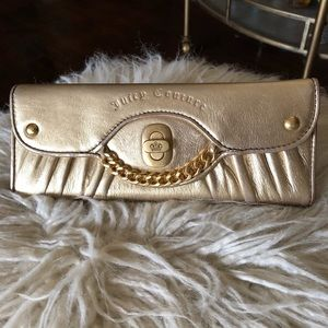 Gold Juicy Couture wallet